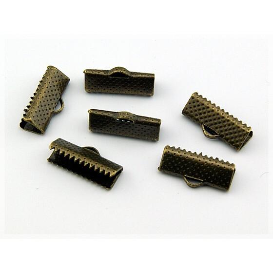13 mm 20 Bandklemmen in goldfarben