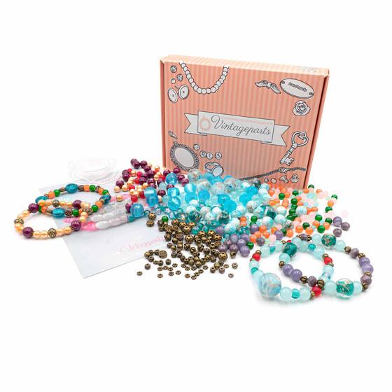 Set Elfi Zum Diy Perlenarmband Im Boho Style Selber Machen Fur