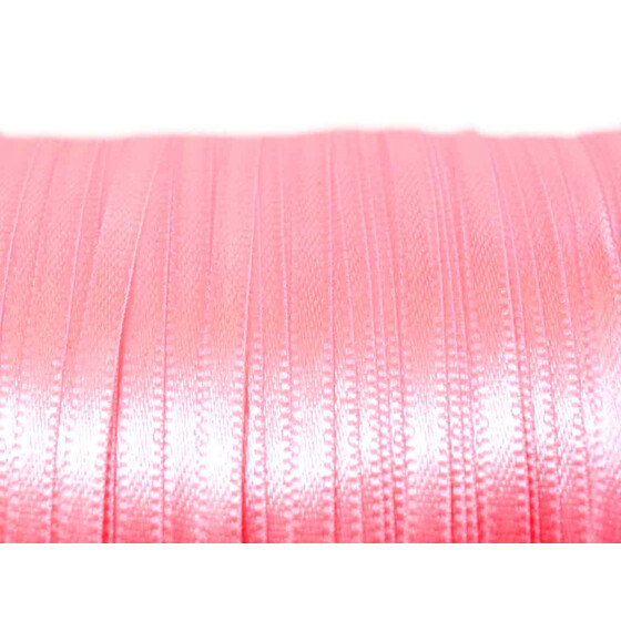 Satinband in rosa 3 mm 10 m