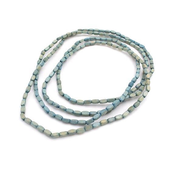 10Stk große Facettierte Glasperlen 8*12//Schmuck Basteln Ohrringe DIY