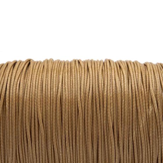 DIY-Schmuck 10 m Polyesterkordel gewachst in bordeaux 1 mm von Vintageparts
