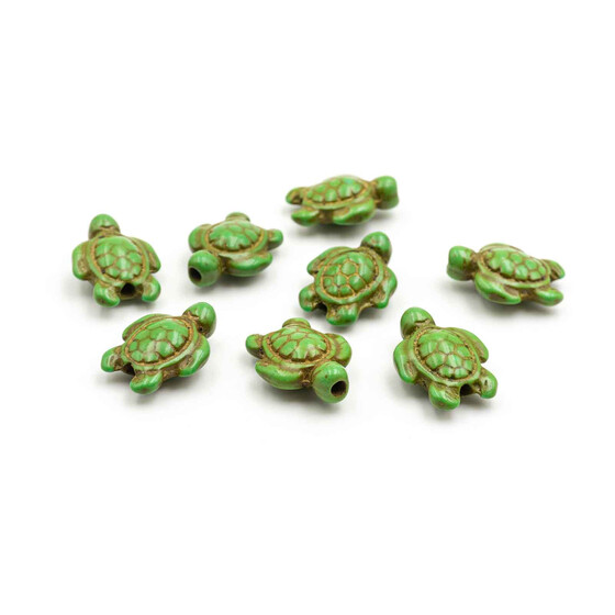 Halbedelstein  Halbedelstein Schildkröten aus Türkis