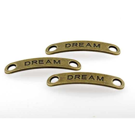 5 Verbinder Dream in antik Bronze
