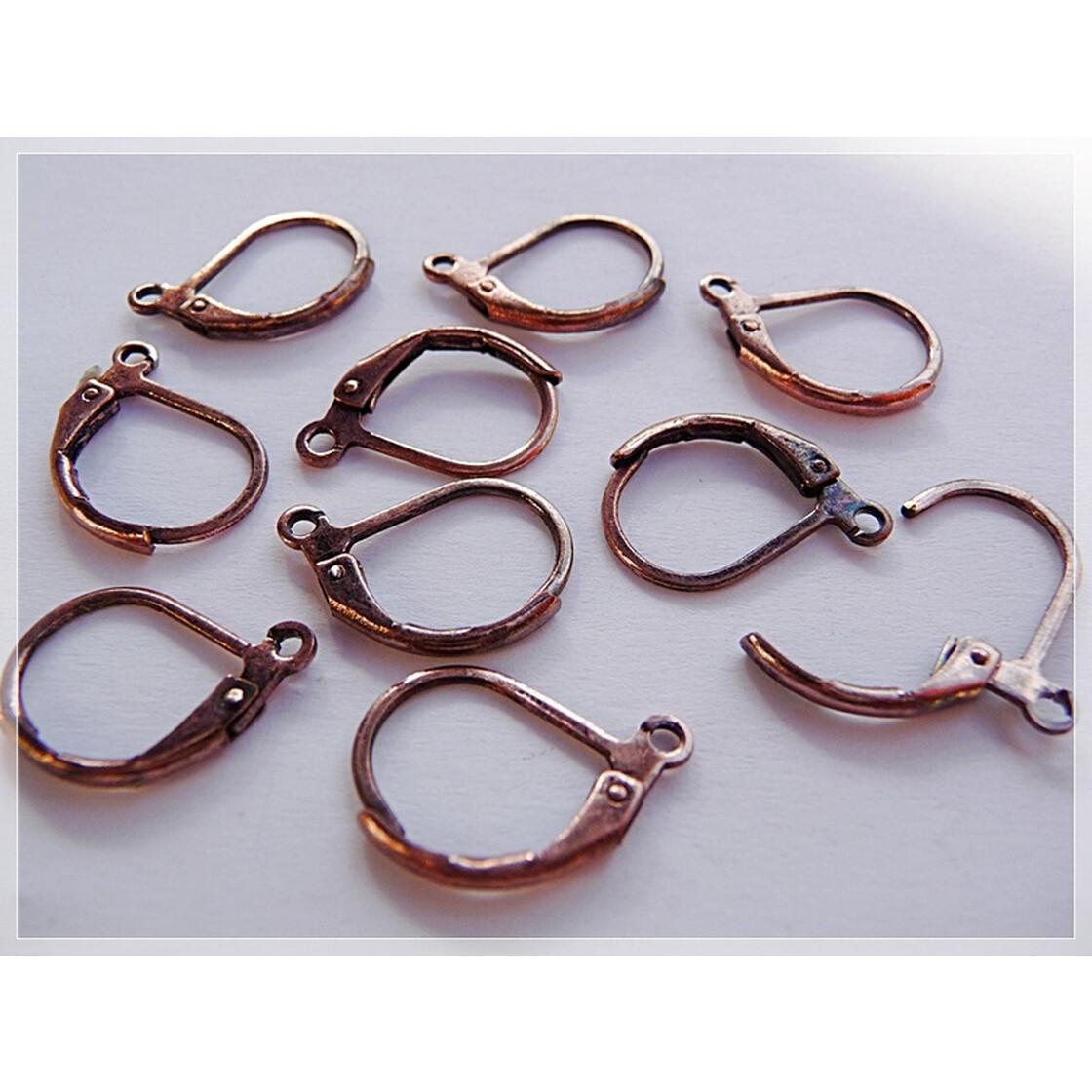 Silber-Vintage-Look Ohrringe mit ORNAMENT-ROSEN-Scheiben 0908