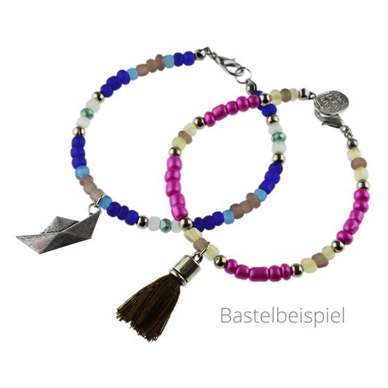 Set Karoline Anfanger Perlenarmband Set In Silberfarben Zum